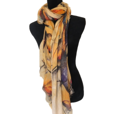 Outback Sunset Women's Scarf
