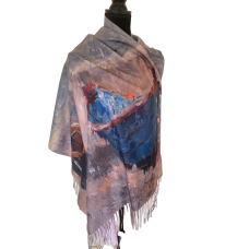 Seascape Artwork Fashion Scarf