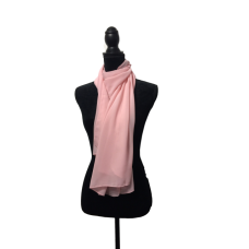 Pale Pink Fashion Scarf