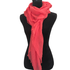 Coral Fashion Scarf