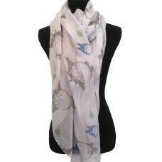 Pastel Fat Cats Scarf