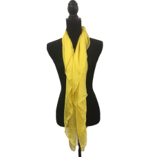 Yellow Gold Silk Scarf