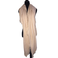 Pale Pink Oversize Square Scarf